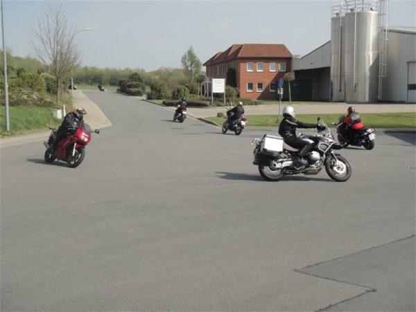 Motorrad Sicherheitstraining Löhne